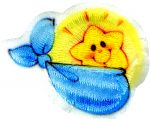 "2 1/2"" by 2"" Baby Sun Novelty Applique-0"