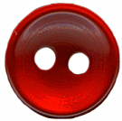 "7/16"" - Pearl Red - 2 Hole Button-0"