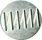 "13/16"" - Silver Metal - Shank Button-0"