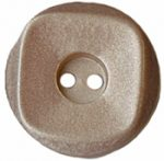 "5/8"" - Shy Taupe - 2 Hole Button-0"