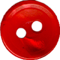"3/8"" - Pearl Red - 2 Hole Button-0"