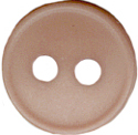 "9/16"" - Taupe - 2 Hole Button-0"