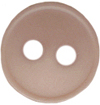 "7/16"" - Taupe - 2 Hole Button-0"