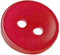 "1/2"" - Fuchsia - 2 Hole Button-0"
