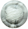 "1/2"" - White/Gray Marbled - Shank Button-0"