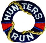 "1 1/2"" - 3.8 cm - Iron On Hunters Run Lifering Applique-0"