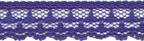 "1/2"" Lace - Royal Blue-0"