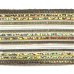 "1 1/2"" Wide Metallic Wire Edged Ribbon - Gold-0"