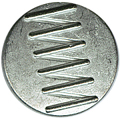 "9/16"" - Silver Metal - Shank Button-0"