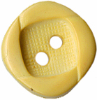 "1/2"" - Soft Yellow - 2 Hole Button-0"