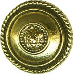 "7/8"" - Gold Metal - Shank Button-0"