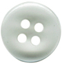"1/2"" - Clear - 4 Hole Button-0"