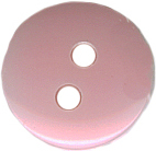 "1/2"" - Pink - 2 Hole Button-0"