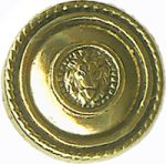 "11/16"" - Gold Metal - Shank Button-0"