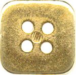 "3/4"" - Gold - 4 Hole Button-0"