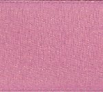 "7/8"" Antique Rose Double Faced Shimmer Satin Ribbon-0"