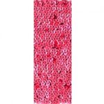 "6"" Stretch Sequin Trim - Red-0"