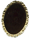 "3/8"" by 1/2"" Gold/Black Shank Button-0"