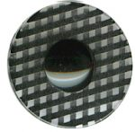 "5/8"" - Black/Clear - Shank Button-0"