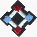 "1 5/16"" - 3.4 cm - Red/White/Blue Patch-0"