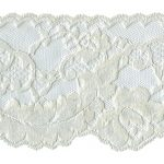 "3 1/2"" to 4"" Ivory Lace Trim-0"