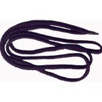 "47"" Plum Braided Round Shoe String-0"