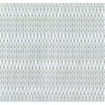 "1 5/16"" White Elastic Trim-0"
