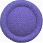 "7/8"" - Periwinkle Fabric Covered - Shank Button-0"