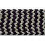 "3/4"" Black/White Braid Trim-0"