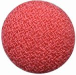 "5/8"" - Watermelon Red - Fabric Covered Shank Button-0"