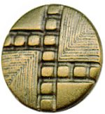 "9/16"" - Old Brass Metal - Shank Button-0"