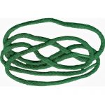 "46"" Green Soft Braided Shoe/Lace-0"
