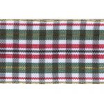 "1 9/16"" Wired Metallic Tartan Plaid Ribbon-0"