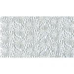 "24 1/2"" White Double Scalloped Venice Lace Fabric-0"