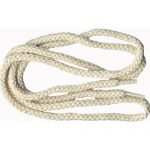 "40"" Cream Soft Braided Shoe Lace/String-0"