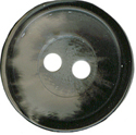 "11/16"" - Black/Grey - 2 Hole Button -0"