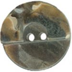 "1 1/8"" - Dark Brown Marbled - 2 Hole Button -0"