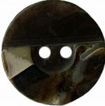 13/16'' - Dark Brown Marbled - 2 Hole Button -0