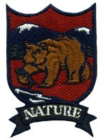 1 7/8'' by 2 3/4'' Iron On Nature Patch-0