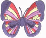 2 7/8'' by 2 3/8'' Butterfly Applique-0
