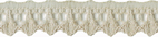 7/16'' Light Taupe Lace Trim-0