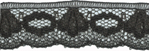 5/8'' Black Lace Trim-0
