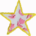 2'' - 5.1 cm - Star Iron On Applique -0