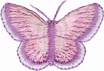 1 1/2'' by 1'' Butterfly Applique-0
