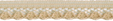 5/16'' Beige Lace Trim-0