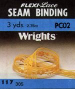 "1/2"" wide Lace Seam Binding - 18 Colors-0"