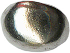 7/16'' by 5/16'' Silver Shank Button-0
