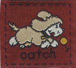 1 3/4'' by 1 9/16'' Sew On Catch Applique-0