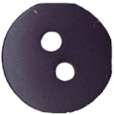 "3/8"" Navy 2 Hole Button-0"