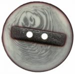 13/16'' - Ivory/Grey - 2 Hole Button-0